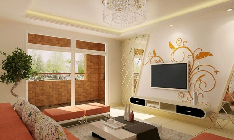 Embossed Glass Panels and Wall Stickers
