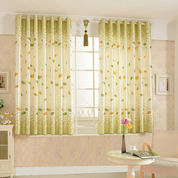 Leaf Country Style curtain
