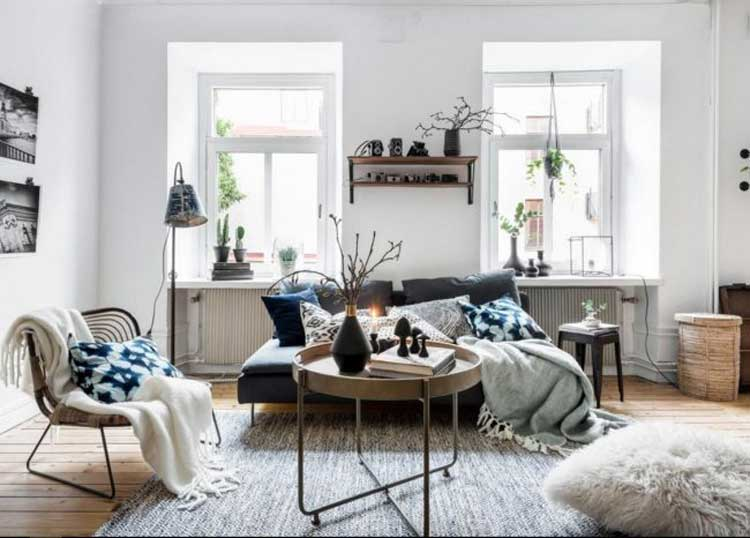 Living Room That Accords As A Family Room