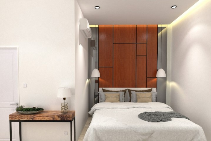 Image of Bedroom Interior Form L