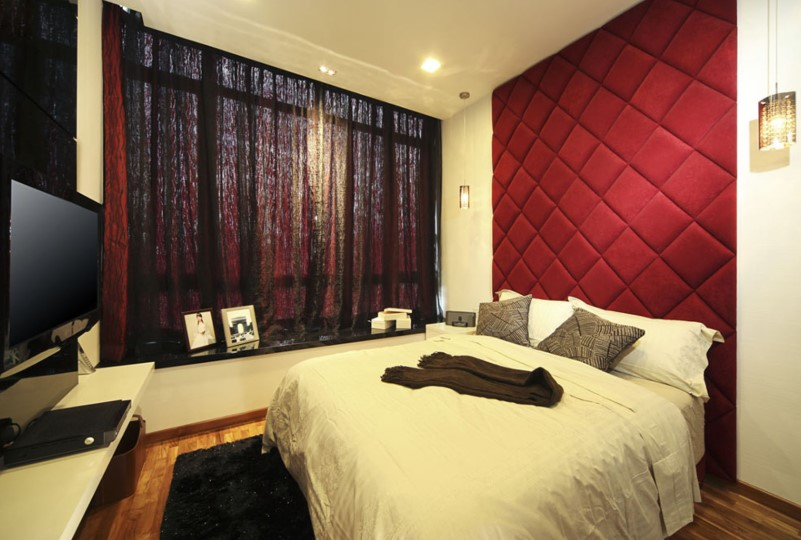 Interior Design of the 3 × 4 Main Bedroom
