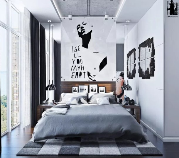Modern Urban Bedroom Design