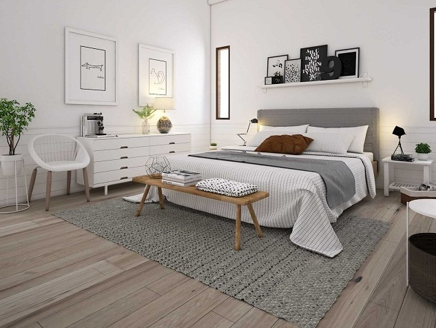 Scandinavian Bedroom Interior Design