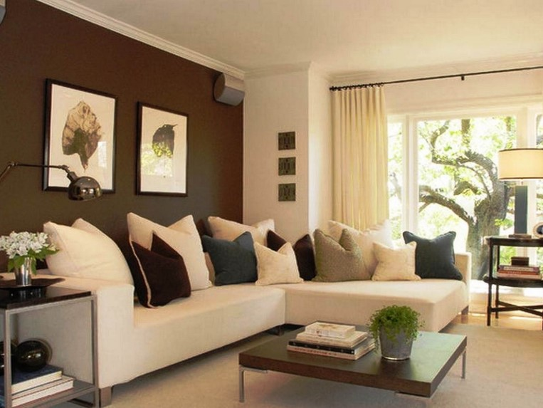 combination 2 paint color Living Room