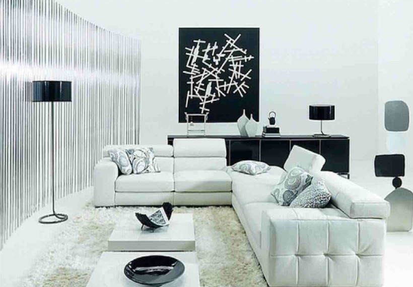 white living room paint