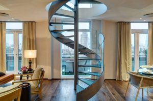 rotating staircase design