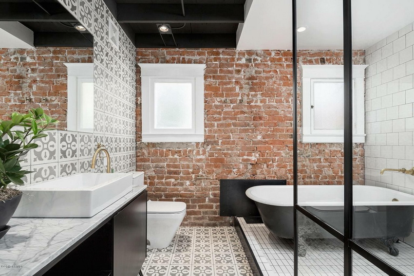Fusion of Brick and Ceramic Walls