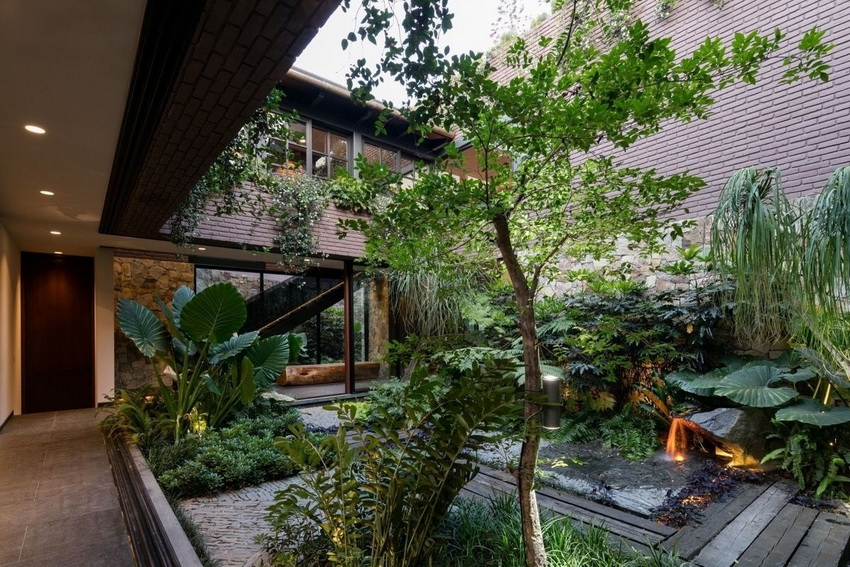 6 Minimalist Front House Designs With Spacious Garden Home Decor