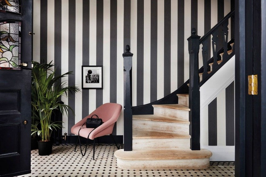 wall line designs Classic Monochrome Themes