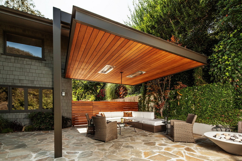 Modern Wood Canopies