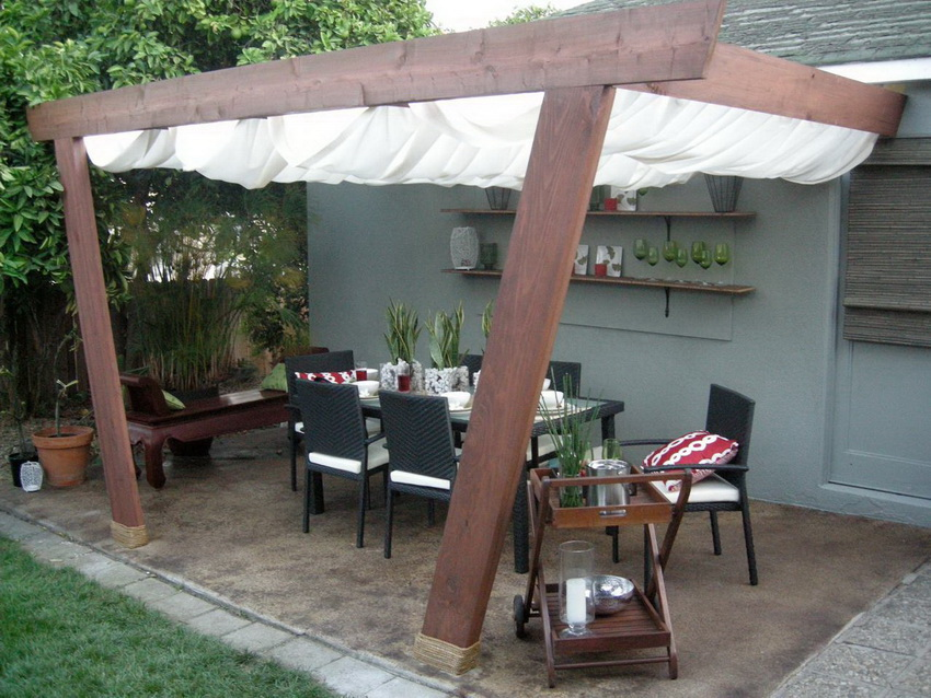Unique Wooden Canopy