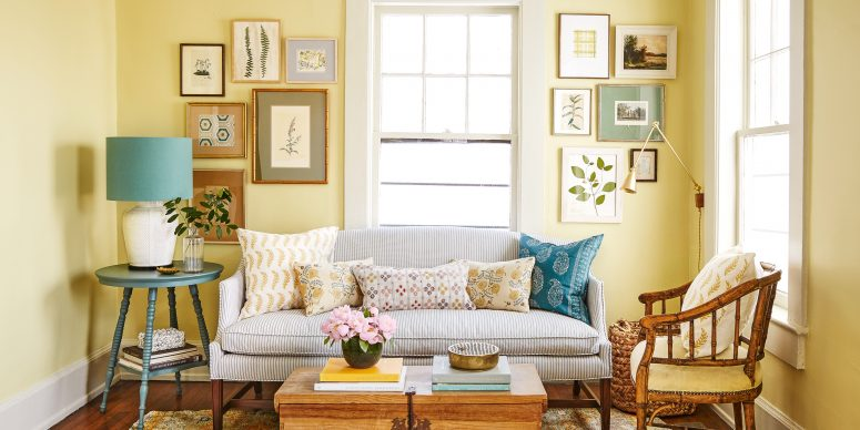 Avoid Excessive Patterns for Small Living Room