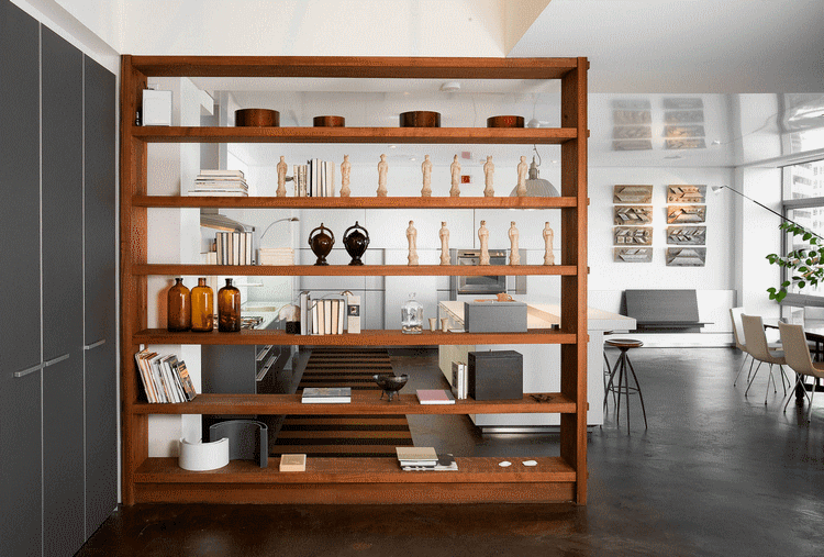 Shelving items as well as partitions