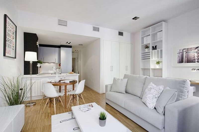 Small Living Room Design So Open