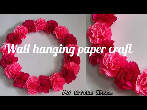 wall hanging paper craft