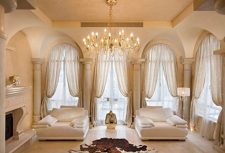 Elegant home curtains