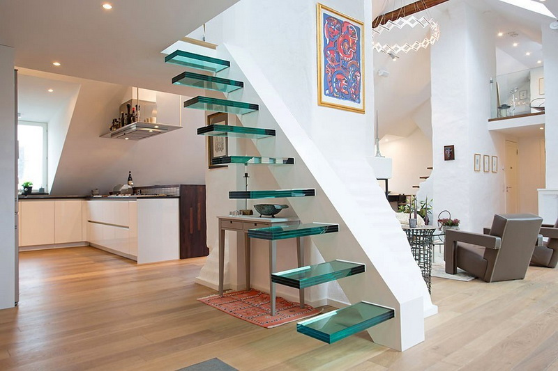 Glass Stair Design