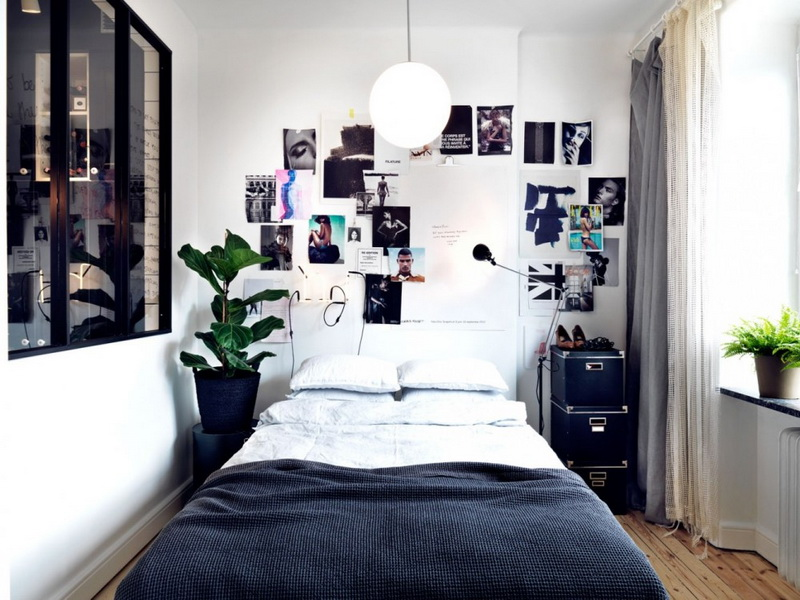 minimalist bedroom design with headboards