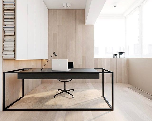 Basic Elements and Forms in Minimalist Workspaces