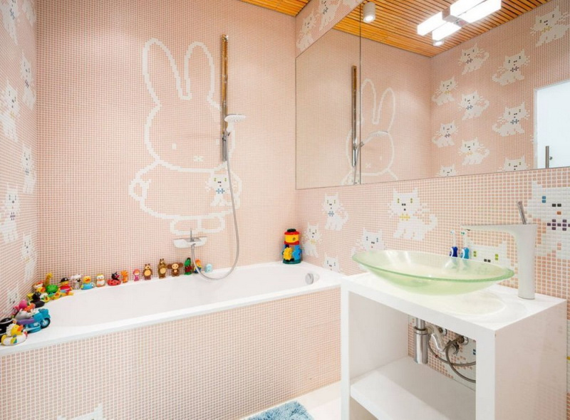 Cartoon Characters Bathroom Ceramic
