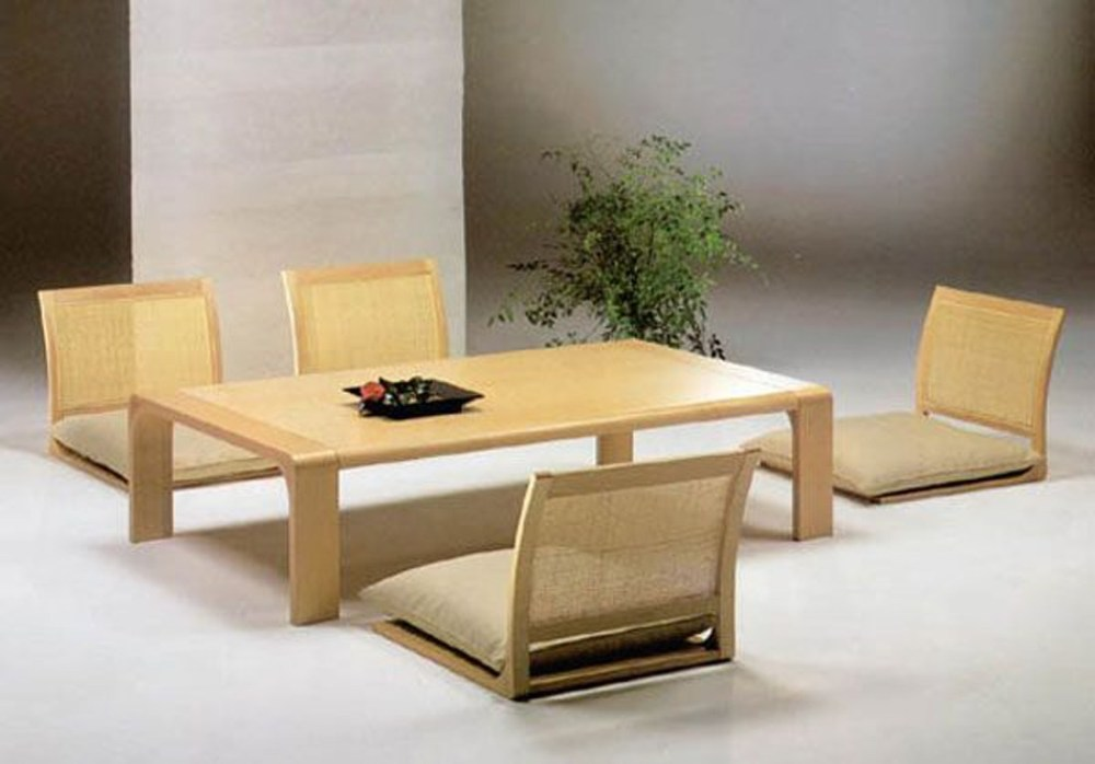 Japanese-style portable table