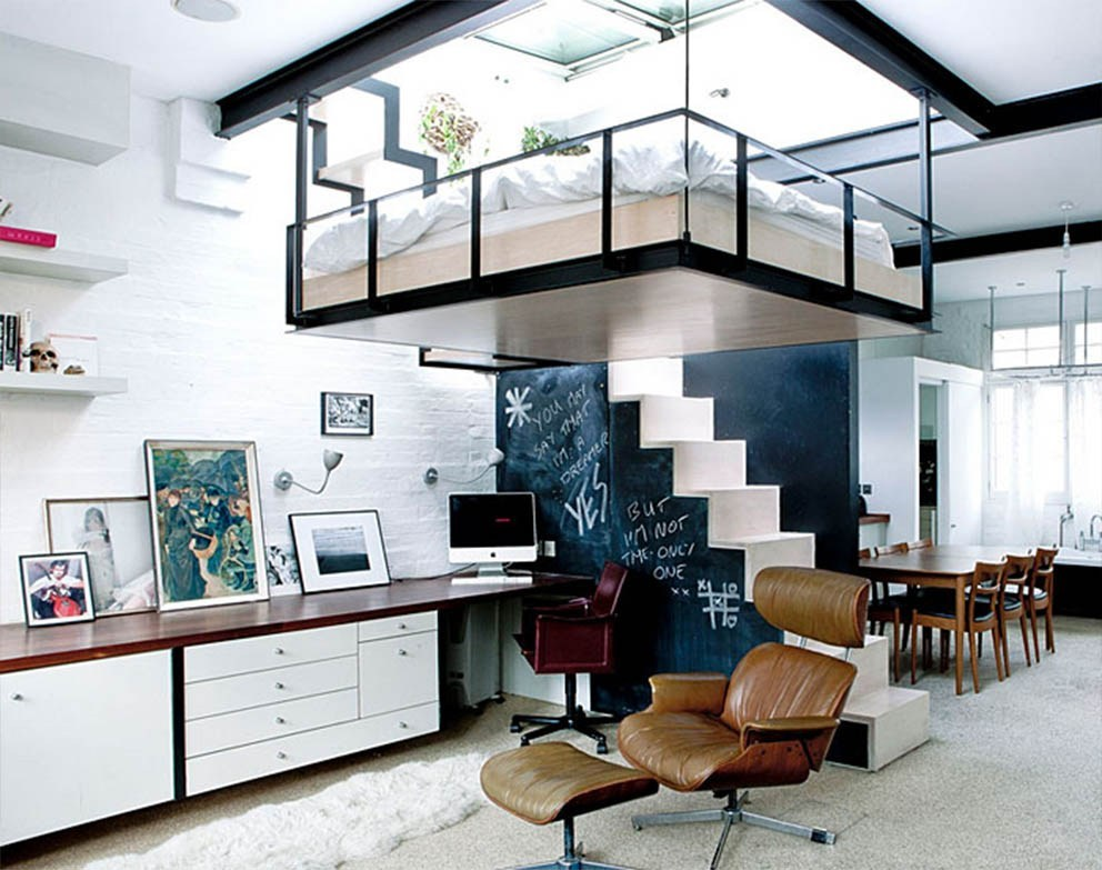 Minimalist Workspace Design for Narrow Spaces