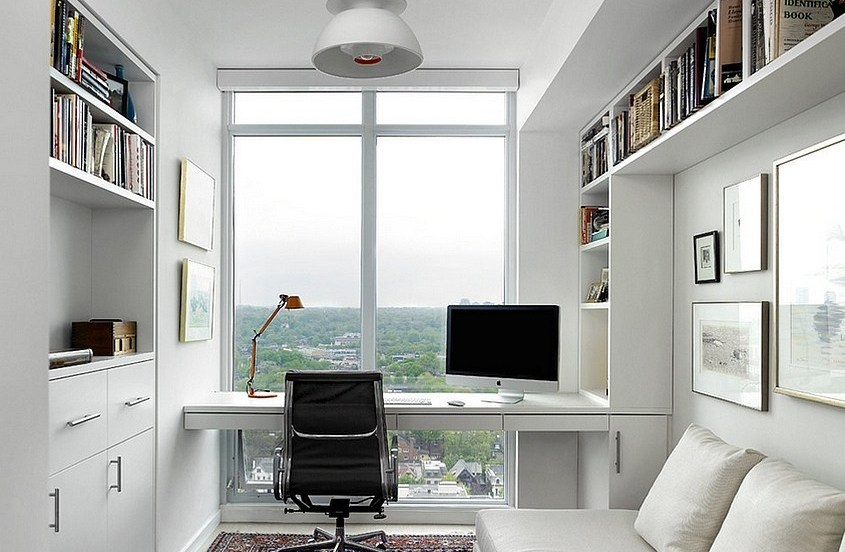 White for Minimalist Workspaces