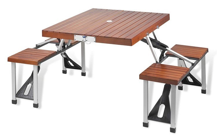 outdoor portable table design