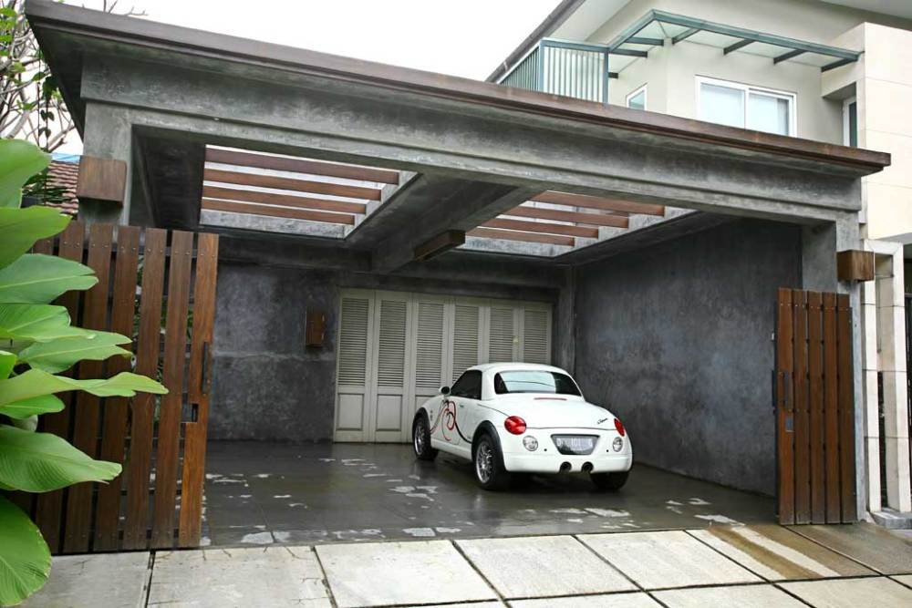 Concrete Carport