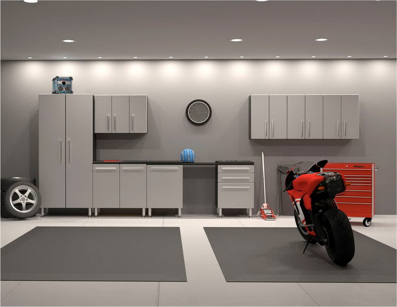 Minimalist Car Garage Design