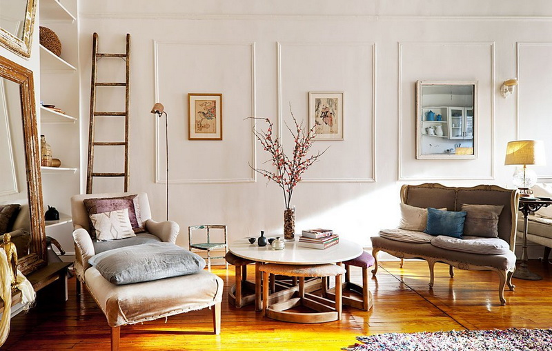Vintage Interior with a Classical Style