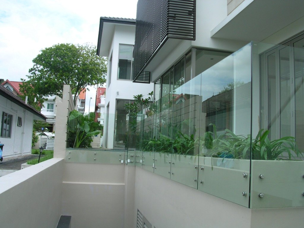 Glass Fence Panel Design