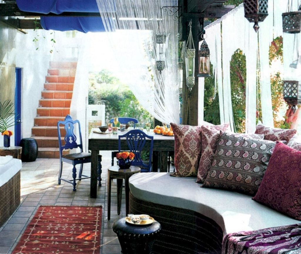 morocco style patio designs