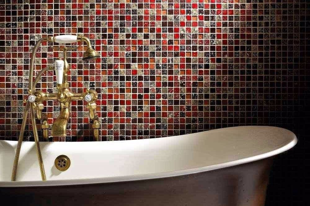 Bathroom Wall Ceramic Mosaic Pattern