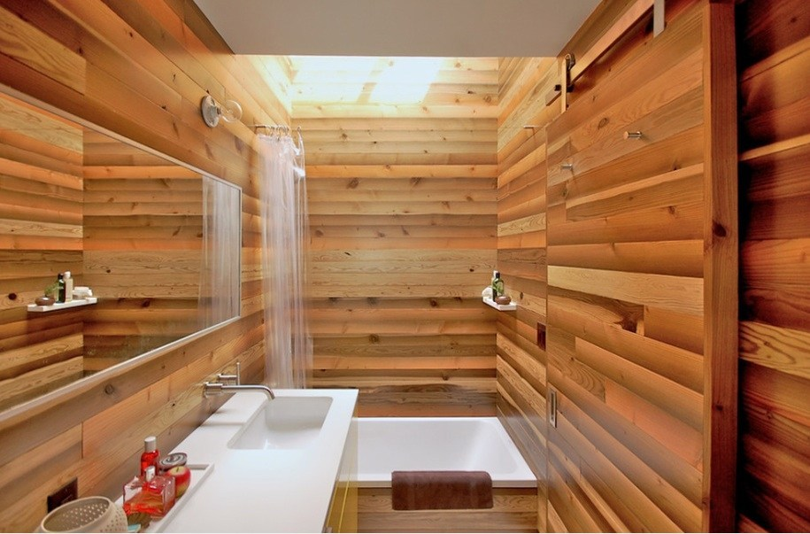 Relaxing Japanese Home Bathrooms