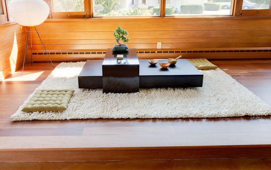 Relaxing Room in a Japanese Home