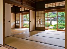 Wood Material in Japanese House