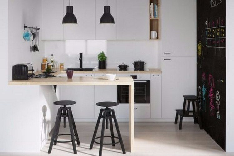 Minimalist kitchen that blends with contemporary designs