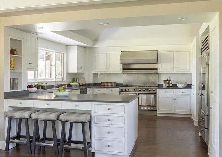 Design of a kitchen cooking