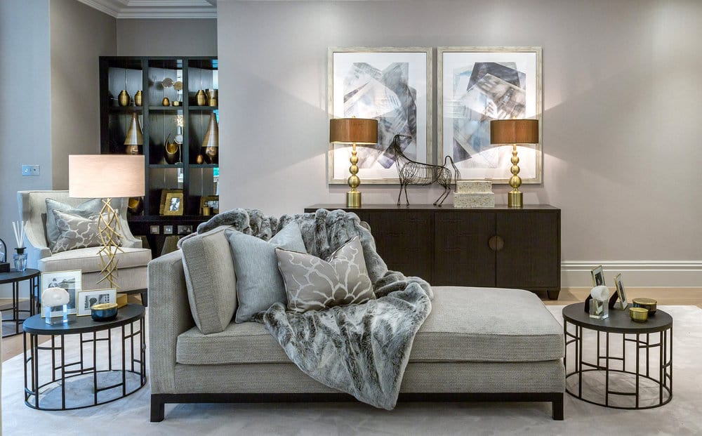 Minimize the Patterns in Family Room Design